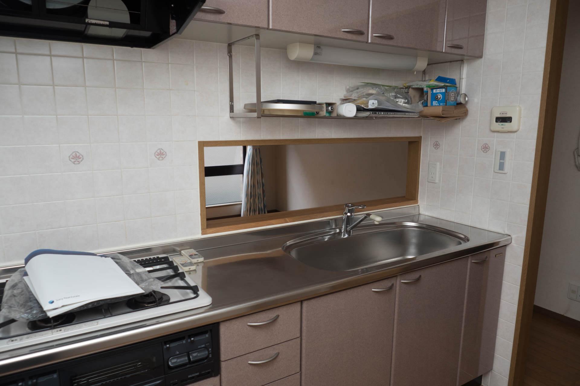 キッチン(内側)